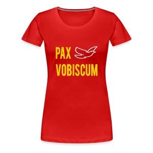 PAX VOBISCUM - Women's Premium T-Shirt