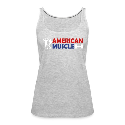 AMERICAN MUSCLE   in2ition - Women's Premium Tank Top