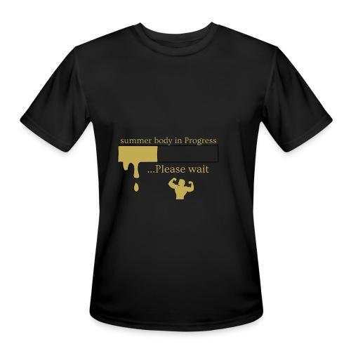 men's summer body shirt - Men's Moisture Wicking Performance T-Shirt