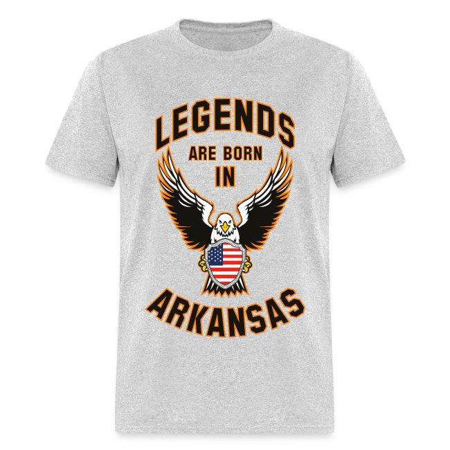 Legends are born in Arkansas