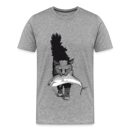 Shark Cat - Men's Premium T-Shirt