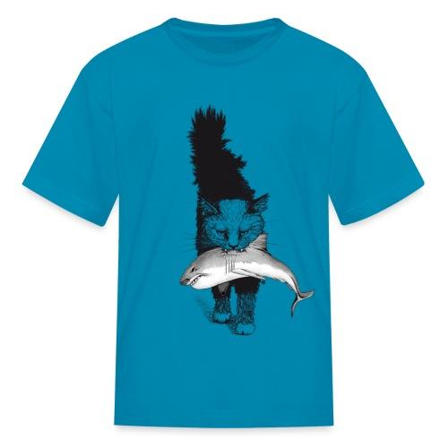 Shark Cat - Kids' T-Shirt