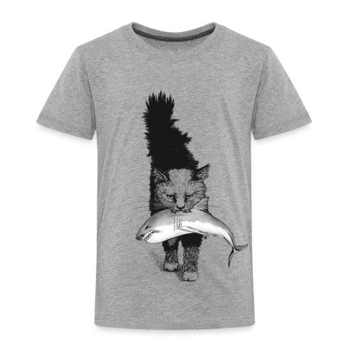 Shark Cat - Toddler Premium T-Shirt