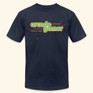 arcade gamer (free shirtcolor selection) - Men's T-Shirt by American Apparel