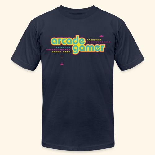 arcade gamer (free shirtcolor selection) - Men's Fine Jersey T-Shirt