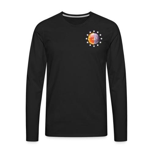 LuViside Long Shelves (Black) - Men's Premium Long Sleeve T-Shirt