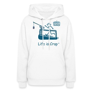 Treadmill Guy/Sports - Womens Hooded Sweatshirt - Women's Hoodie