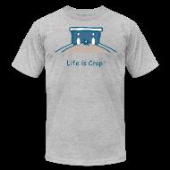 T-Shirts ~ Men's T-Shirt by American Apparel ~ Split Bowling - Mens T-Shirt by American Apparel