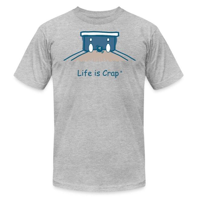 Split Bowling - Mens T-Shirt by American Apparel