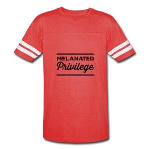 Melanated Privilege - Vintage Sport T-Shirt