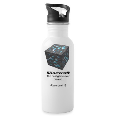 Minecraft Diamond ore Canteen