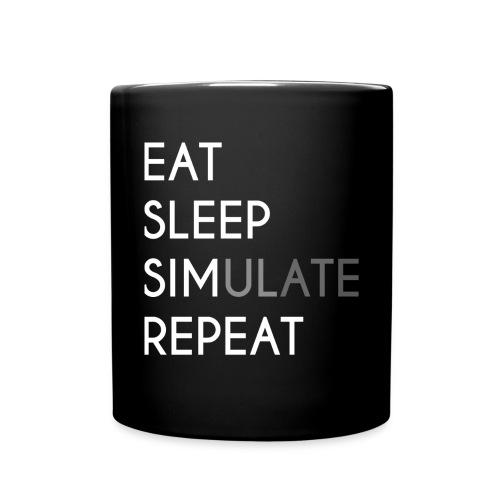 Eat Sleep SIMulate Repeat - Mug - Full Color Mug
