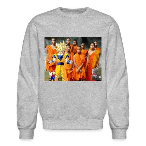 Mobbin' Goku & the Gang Sweatshirt - Crewneck Sweatshirt