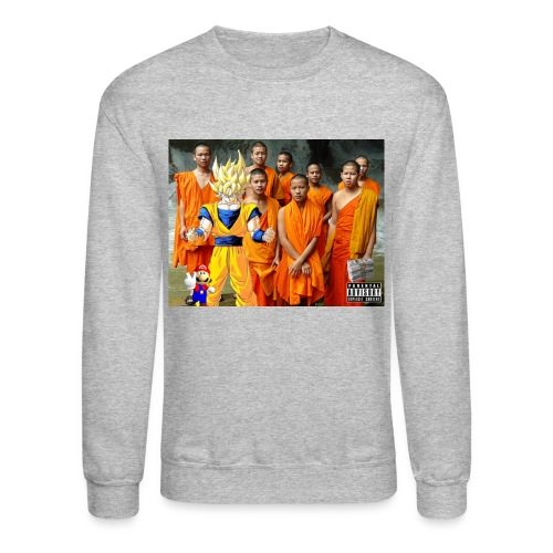 Mobbin' Goku & the Gang Sweatshirt - Crewneck Sweatshirt