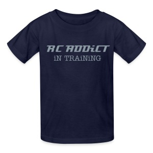 RC ADDiCT - iN TRAiNiNG - Metallic Chrome - Kids' T-Shirt