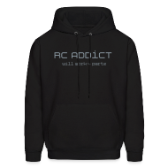 Hoodies ~ Men's Hoodie ~ Will Work for Partz