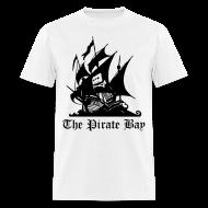 T-Shirts ~ Men's T-Shirt ~ The Pirate Bay (Authorised)