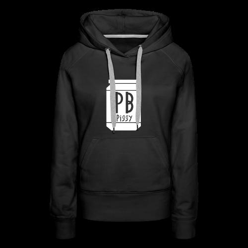 PBPiggy Premium Hoodie (Womens) - Women's Premium Hoodie