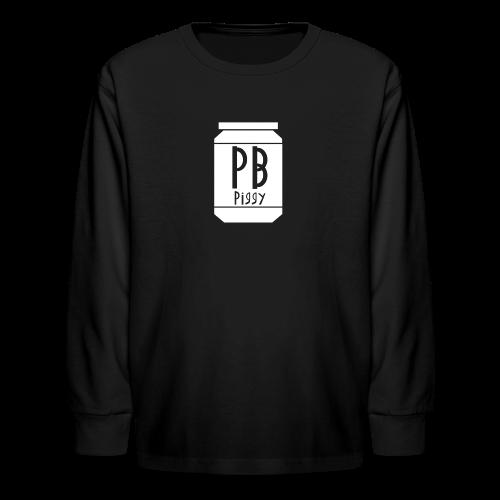 PBPiggy Long Sleeve (Kids) - Kids' Long Sleeve T-Shirt