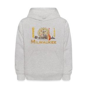 Milwaukee Flag - Kids' Hoodie