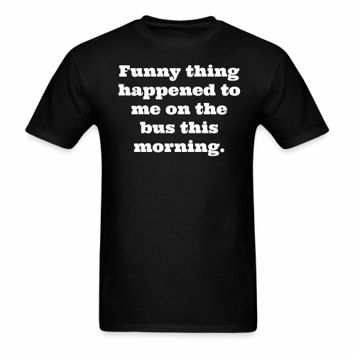 Funny Bus - Men's T-Shirt