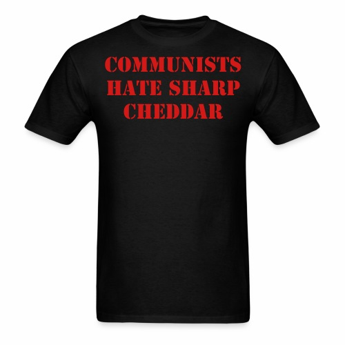Communist Cheddar - Men's T-Shirt