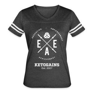 Women's Vintage Sport T-Shirt - New Logo EEA - White Font - Women's Vintage Sport T-Shirt