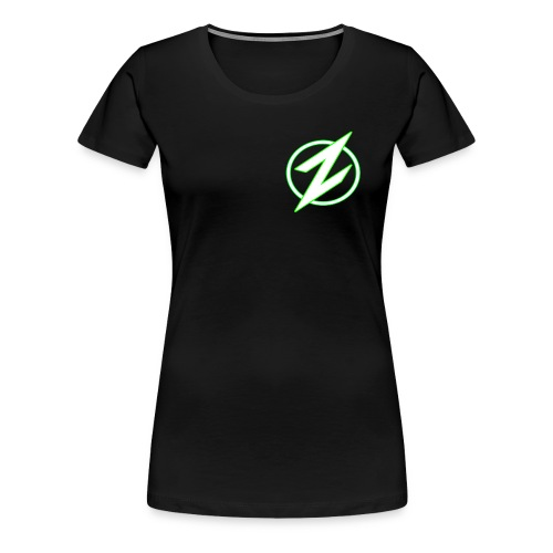 Green Z Womans Tshirt - Women's Premium T-Shirt