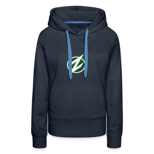 Green Z Womans hoodie - Women's Premium Hoodie