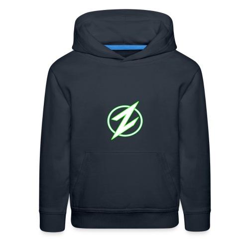 Green Z youth hoodie - Kids' Premium Hoodie