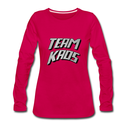 Team KAOS (Long Sleeve - Ladies) - Women's Premium Long Sleeve T-Shirt