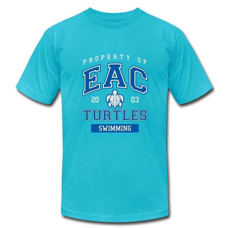 EAC Turtles - Men's T-Shirt by American Apparel