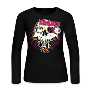 Zombie Women's Long Sleeve T-Shirt - Women's Long Sleeve Jersey T-Shirt