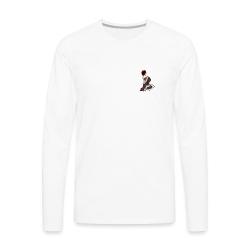 Red Oni Tattoo - Men's Premium Long Sleeve T-Shirt