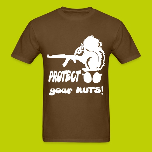 Protect ur NUTS - Men's T-Shirt