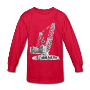 Crawler Crane 750t - Kids' Long Sleeve T-Shirt