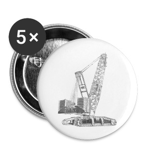 Crawler Crane 750t - Small Buttons