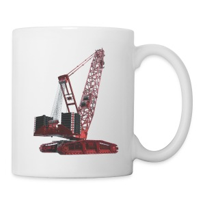 Crawler Crane 750t - Red - Coffee/Tea Mug