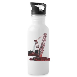Crawler Crane 750t - Red - Water Bottle