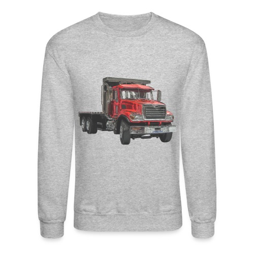 Flatbed Truck - Red - Crewneck Sweatshirt