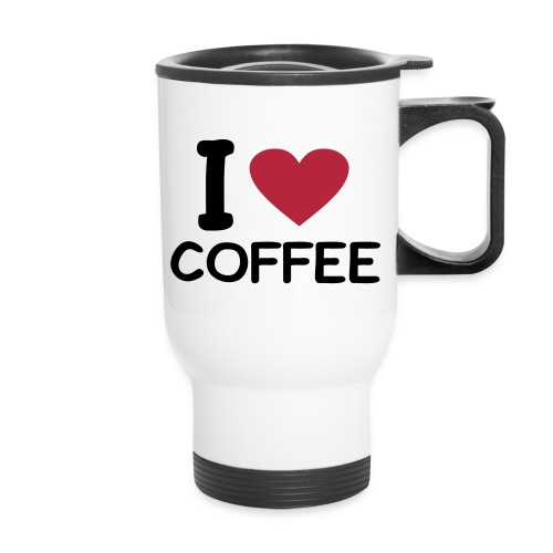 I (Heart) Coffee Mug - Travel Mug