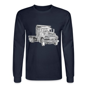 Flatbed Truck - Men's Long Sleeve T-Shirt