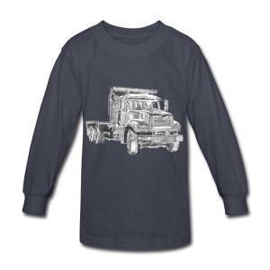 Flatbed Truck - Kids' Long Sleeve T-Shirt