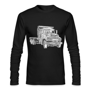 Flatbed Truck - Men's Long Sleeve T-Shirt by Next Level