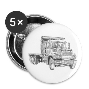 Flatbed Truck - Large Buttons