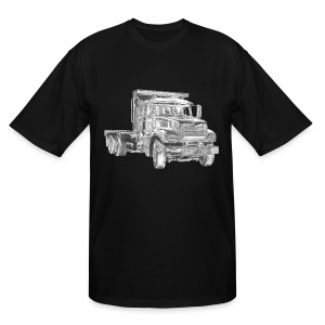 Flatbed Truck - Men's Tall T-Shirt