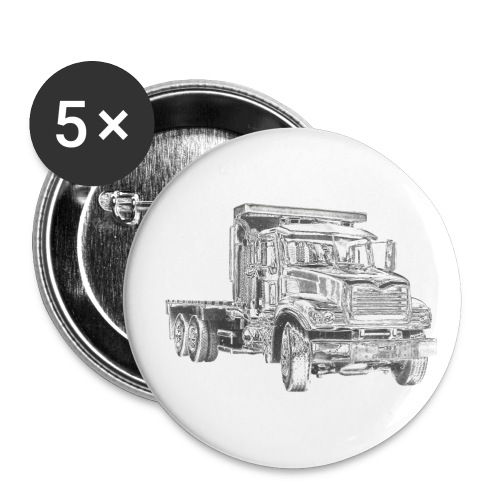 Flatbed Truck - Small Buttons
