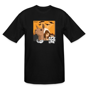 The Drama Llama (Tall) - Men's Tall T-Shirt