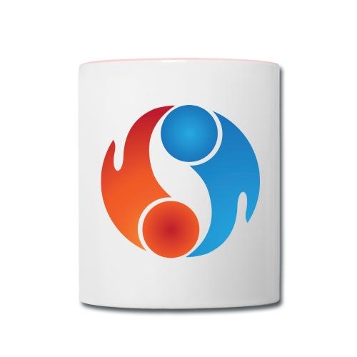 Mug - White Logo - Contrast Coffee Mug