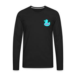 Zèbra Rubber Duck Long Tee - Men's Premium Long Sleeve T-Shirt